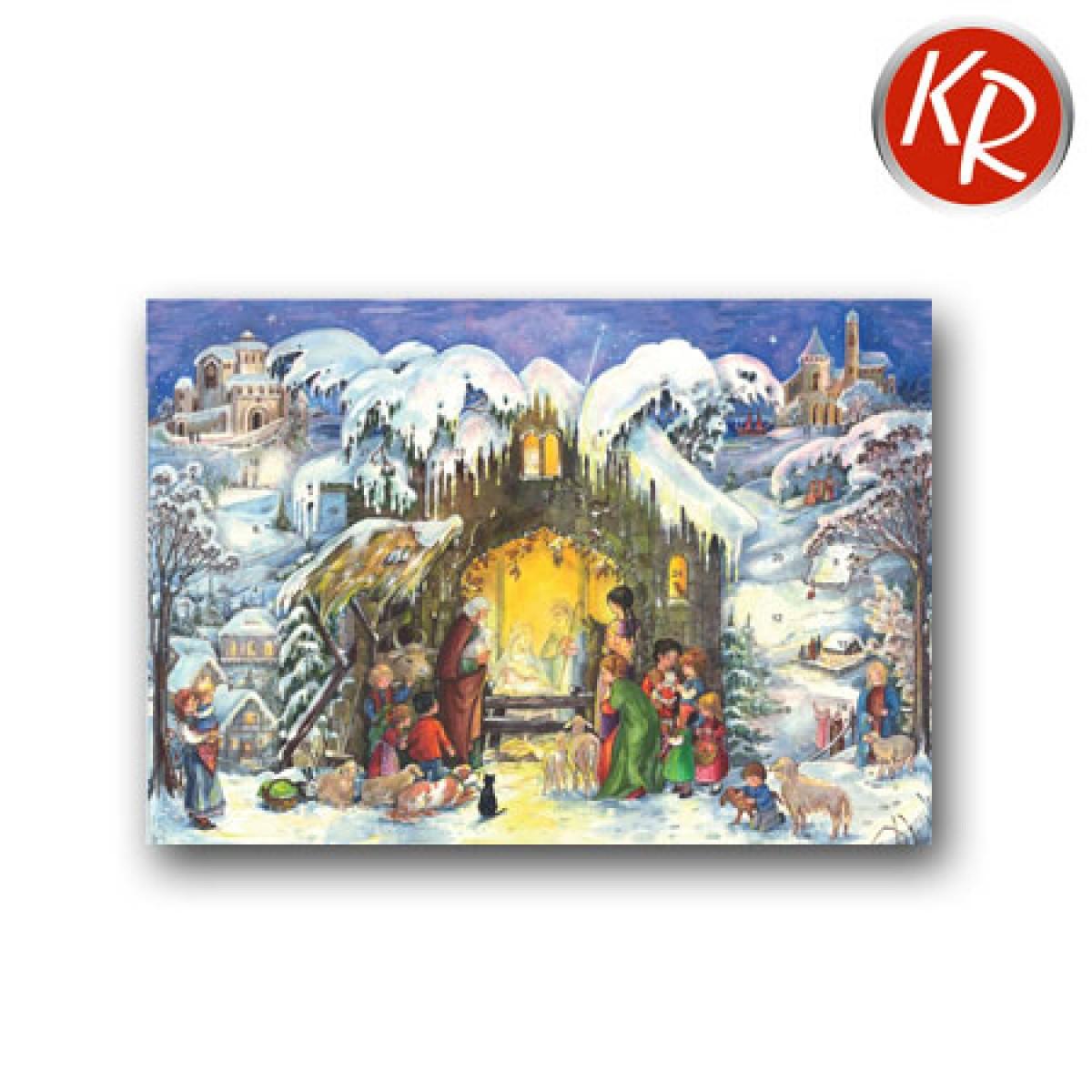 Adventskalenderkarte 27-1411