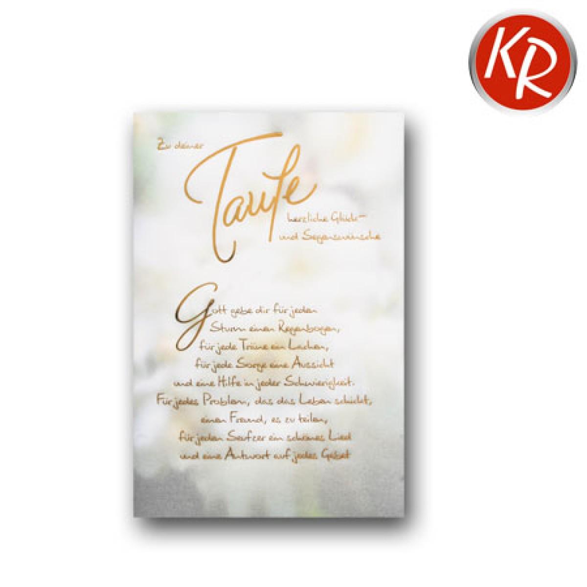 Faltkarte Taufe 31 0045