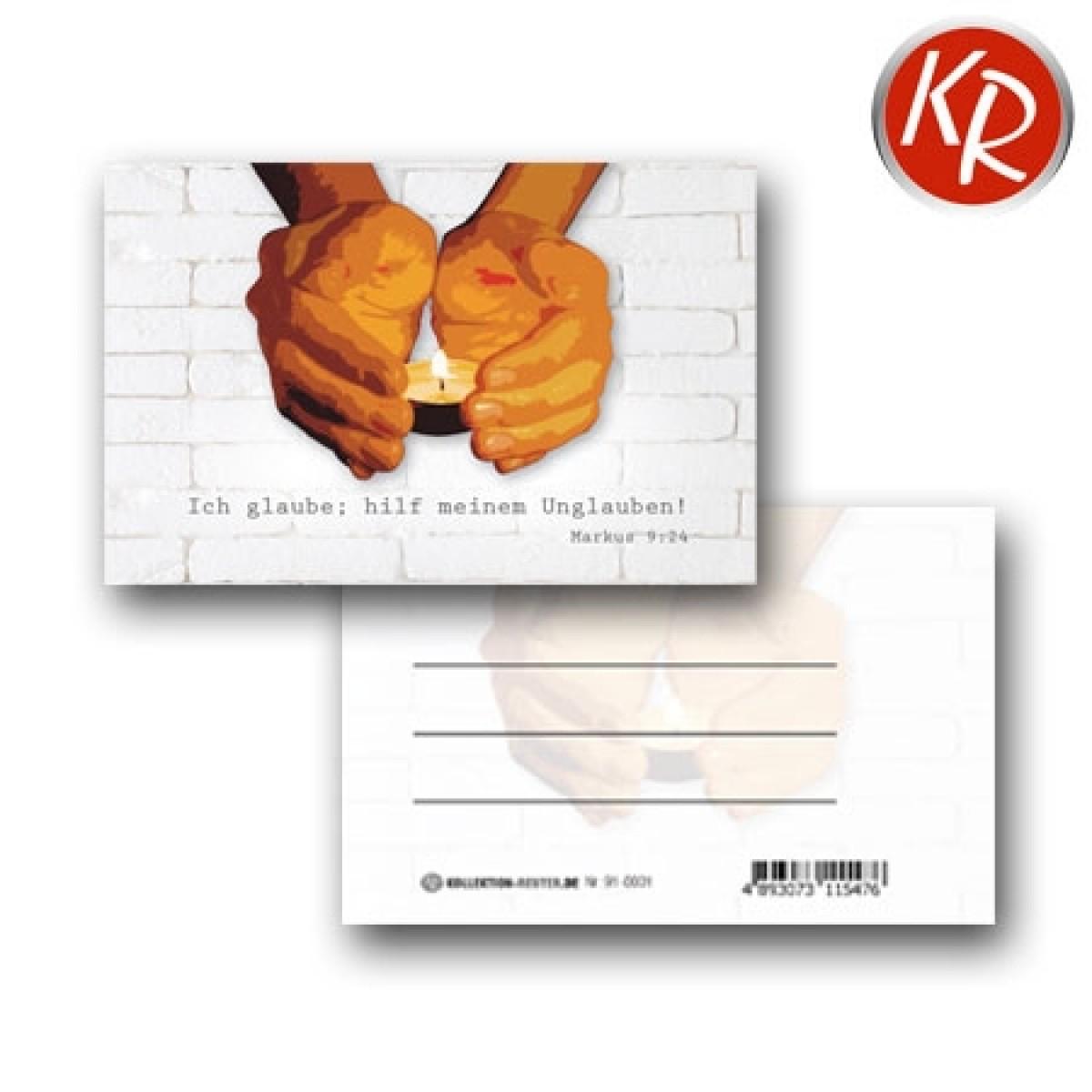 20er-Pack Kleinkärtchen Jahreslosung 2020 91-0001