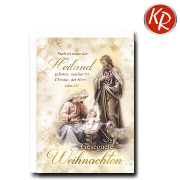 Faltkarte, Weihnachten, Bibelvers, Bibelwort, Glückunschkarte ...