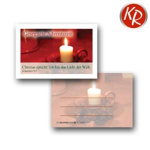20er-Set Minikärtchen Advent 10-0018