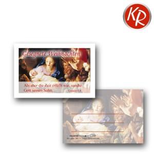 20er-Set Minikärtchen Weihnachten 11-0049