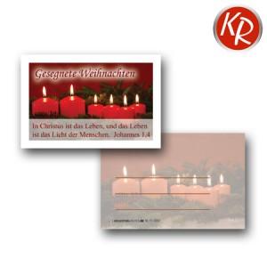 20er-Set Minikärtchen Weihnachten 11-0052