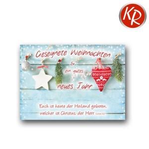 Postkarte Weihnachten 11-0060