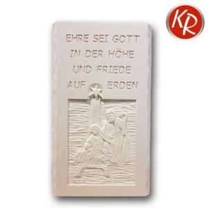 """Massivholzwandbild """"Ehre sei Gott"""" 1390"""