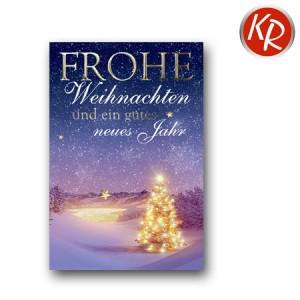 Faltkarte Weihnachten 14-0247