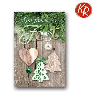 Faltkarte Weihnachten 14-0249