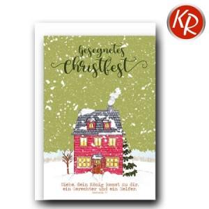 Faltkarte Weihnachten 14-0270