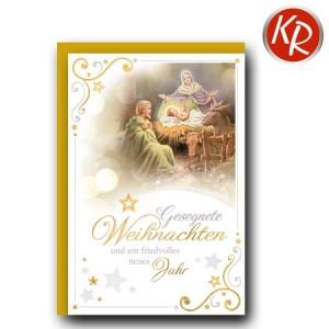 Faltkarte Weihnachten 14-0273