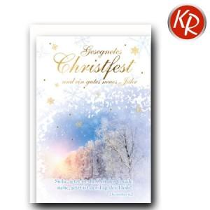Faltkarte Weihnachten 14-0300