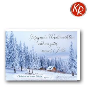 Faltkarte Weihnachten 14-0344