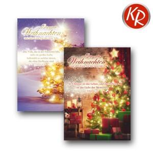 10er Serie Weihnachtskarten 15-0012