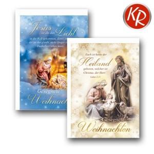 10er Serie Weihnachtskarten 15-0014