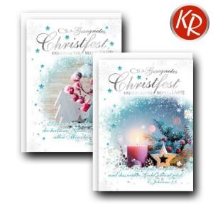 10er Serie Weihnachtskarten 15-0017