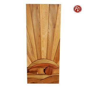 Massivholzintarsie Auferstehung 1332