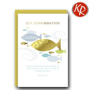 Faltkarte Konfirmation  20-0207