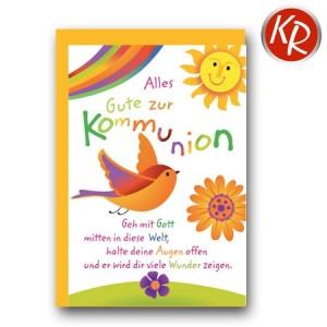 Faltkarte Kommunion 22-0089
