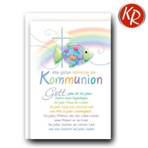 Faltkarte Kommunion 22-0093