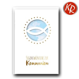 Faltkarte Kommunion 22-0112