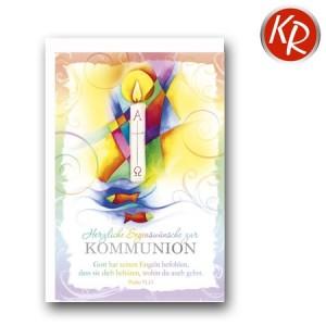 Faltkarte Kommunion 22-0120