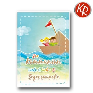 Faltkarte Kommunion 22-0122