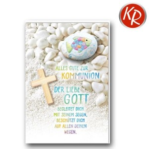 Faltkarte Kommunion 22-0130