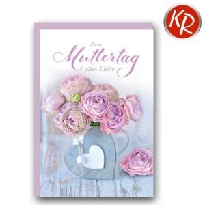 Faltkarte Muttertag 25-0025