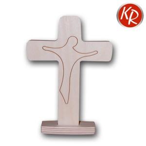 Standkreuz 2-teilig mit Christusfigur  2565