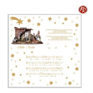 Weihnachtsservietten Stille Nacht; 4105