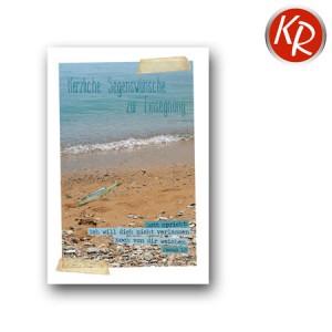 Faltkarte Einsegnung  26-0034