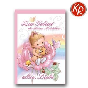 Faltkarte Geburt 30-0125