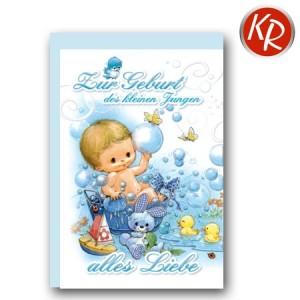 Faltkarte Geburt 30-0126