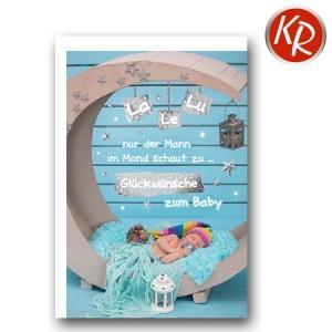 Faltkarte Geburt 30-0131