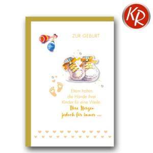 Faltkarte Geburt 30-0133
