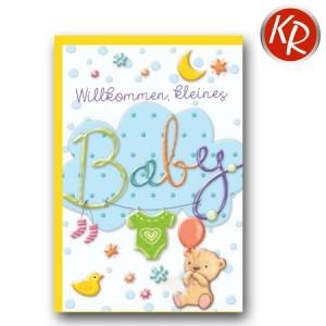 Faltkarte Geburt 30-0140