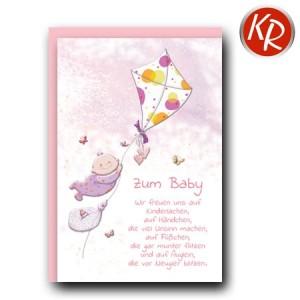 Faltkarte Geburt 30-0148