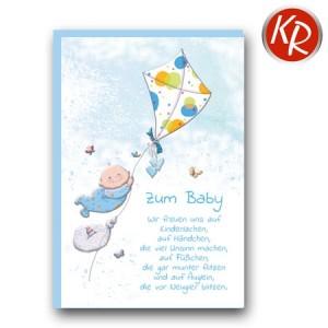 Faltkarte Geburt 30-0149