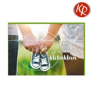 Faltkarte Geburt 30-0156