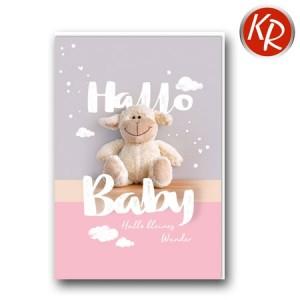 Faltkarte Geburt 30-0157