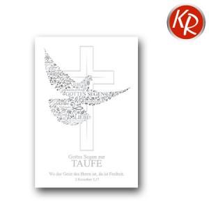 Faltkarte Taufe 31-0090