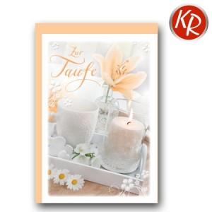 Faltkarte Taufe 31-0258