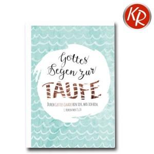 Faltkarte Taufe 31-0267