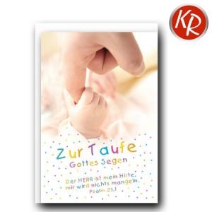 Faltkarte Taufe 31-0269