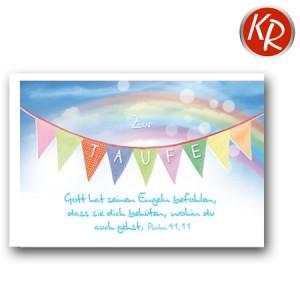 Faltkarte Taufe 31-0271