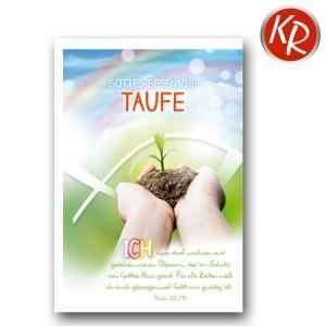 Faltkarte Taufe 31-0273