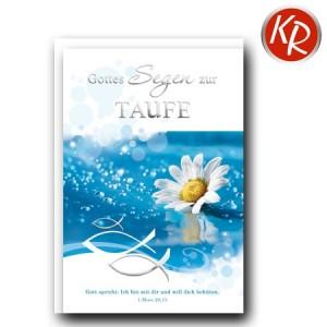 Faltkarte Taufe 31-0274