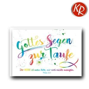 Faltkarte Taufe 31-0282