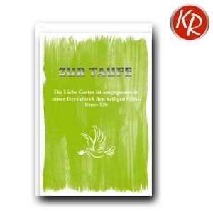 Faltkarte Taufe 31-0283