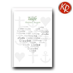 Faltkarte Taufe 31-0285