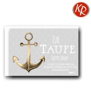 Faltkarte Taufe 31-0286